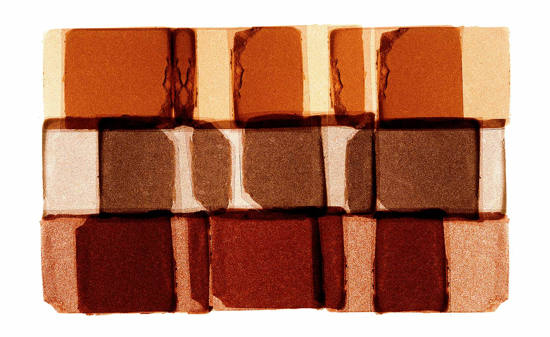 bronzing blush abstract